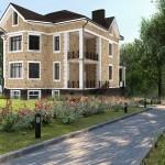 Индивидуальный жилой дом (варианты отделки)