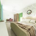 Спальня 2 этаж (Весна)