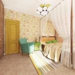Спальня 2 этаж (Лето)